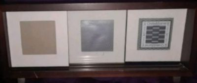 Crate & Barrel 3x3 Picture Frame