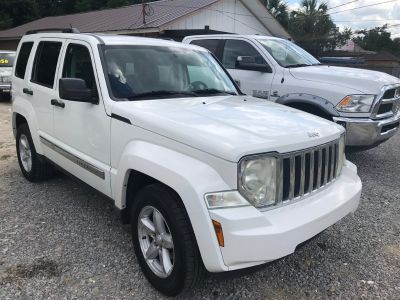 2008 Jeep Liberty Limited (White)