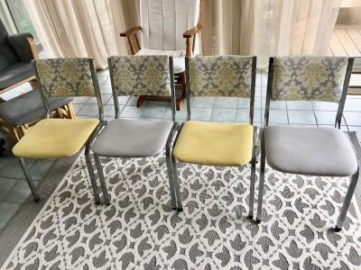 Four cute dining chairs