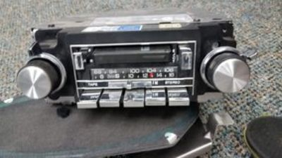 1984 Chevy Monte Carlo SS OEM Radio and Speakers