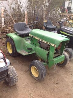 John Deere 112 riding lawnmower for parts