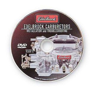 Find Edelbrock 0324 Carburetor Installation and Troubleshooting DVD motorcycle in Delaware, Ohio, United States, for US $3.69