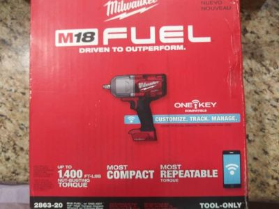 M18 Fuel impact wrench 2863-20