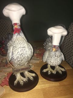 Chef Hen & Rooster Set