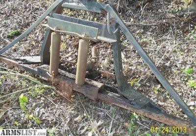 For Sale/Trade: 3 point hitch winch frame for logging/firewood/farm/towing tractors