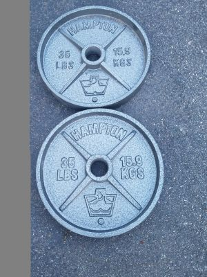 Olympic Plates-35lbs