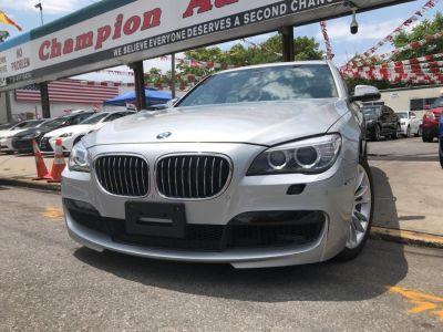 2013 BMW MDX 750Li xDrive (Glacier Silver Metallic)