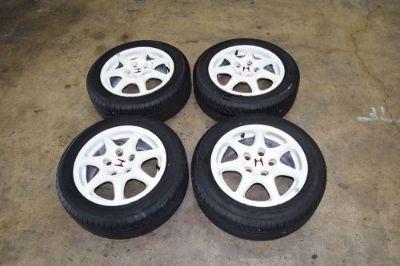 "Sell JDM CTR Rims 15"" 5X114 Civic TypeR wheels B16B EK9 Mags wheel motorcycle in Philadelphia, Pennsylvania, United States, for US $899.00"