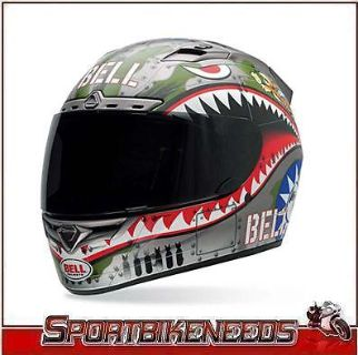 Sell BELL VORTEX FLYING TIGER HELMET SIZE S SMALL FULL FACE STREET HELMET motorcycle in Elkhart, Indiana, US, for US $179.95