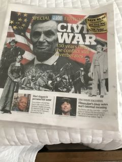 USA Today issue...collectible..never opened
