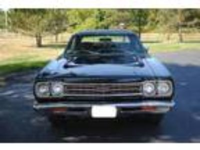 1969 Plymouth GTX coupe Black