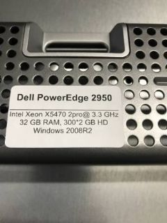 Dell PowerEdge 2950 - Ready