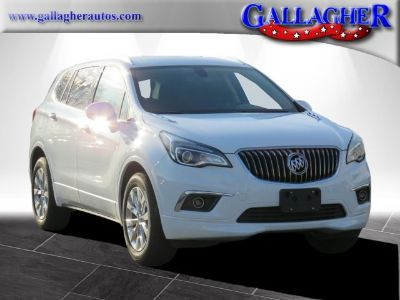 2018 Buick Envision Essence (summit white)