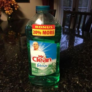 Mr. Clean with Febreze cleaner. Barely used.