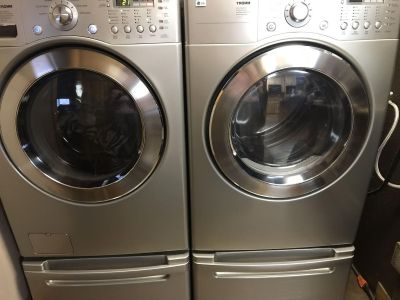 LG Front Loader Washing Machine and Dryer