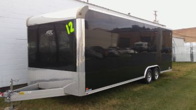 2012 24ft All Aluminum ATC enclosed trailer