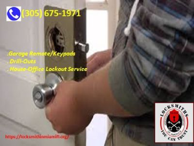 Contact if you need locksmith in Miami Florida quickly