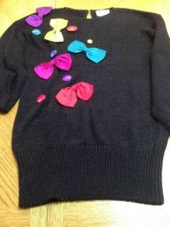 cute dressy sweater, good for a party or just day wear