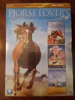 New Horse Lover's Triple Feature DVD's