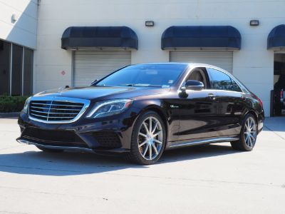2014 Mercedes-Benz S-Class S63 AMG 4MATIC (Ruby Black Metallic)