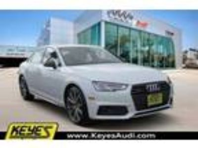 New 2018 Audi A4 2.0T Prestige quattro Sedan