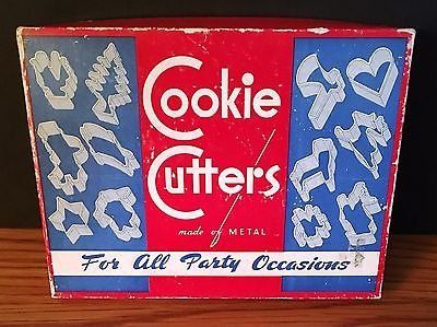 Vintage Sandwich Cookie Cutters For All Party Occasions Made of Metal