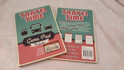 Travel time game pads