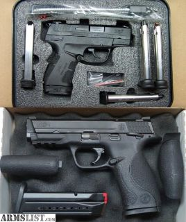 For Trade: Trade 2for1 - XDE-9/M&P-9 for Sig 9/40