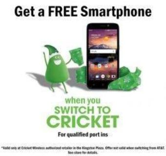 FREE SMARTPHONES WAITING FOR YOU TODAY @ CRICKET WIRELESS SOUTHFIELD!!
