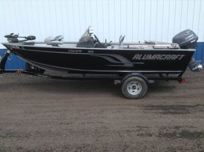 2014 Alumacraft Escape 165 Aluminum Fish Boats Hutchinson, MN