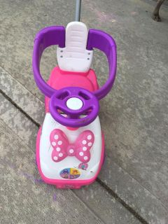 Minnie Mouse Push, ride-on, and rocking toy