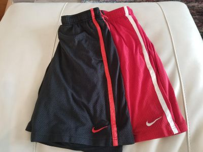 Mens NIKE shorts size Large. Price for both.