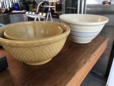 Stone wear mixing bowls