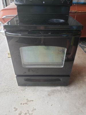 Working electric oven