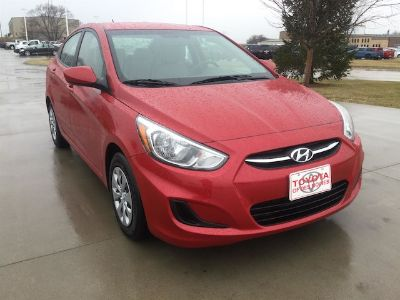 2017 Hyundai Accent GLS (Boston Red Metallic)