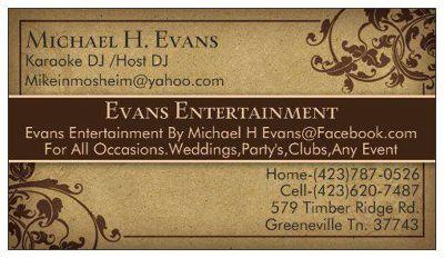 EvansEntertainment DJ Service