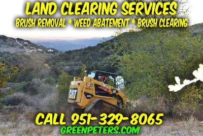 Land Clearing, Weed Abatement, Brush Clearing