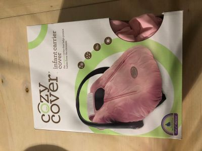 Pink cozy cover, excellent condition