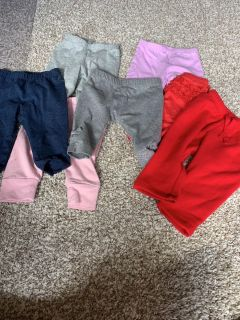 7 pairs of pants 3 months $3 for all