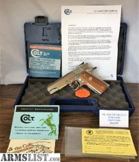 For Sale: Colt Gold Cup Commander Custom Edition
