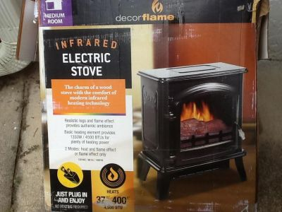 Infrared portable electric heater stove