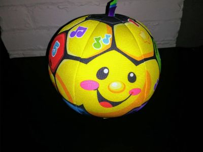 Fisher Price Laugh and learn soccer ball