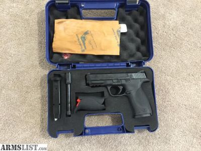 For Sale: S&W MP 9 with threaded and non threaded barrels