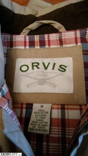 For Sale: ORVIS mens jacket