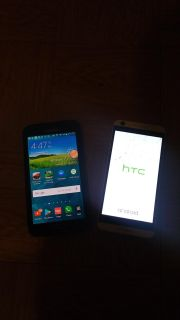 Htc desire 626s unlocked and Samsung galaxy s5 T-Mobile and metro pcs