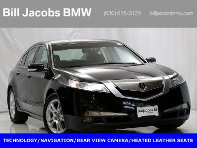 2009 Acura TL Base (Crystal Black Pearl)