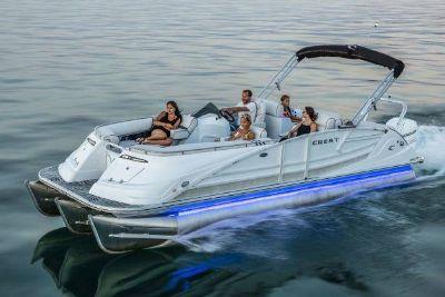 2018 Crest Marine Savannah 250 SLS Pontoons Boats Ponderay, ID