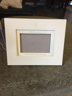 First communion picture frame from hallmark