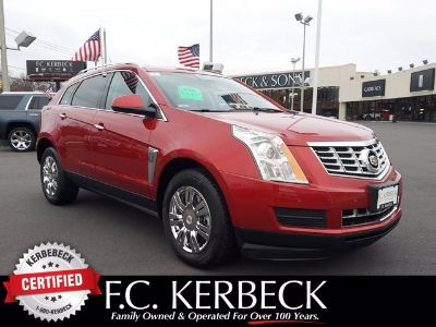2016 Cadillac SRX Performance Collection (Crystal Red Tintcoat)