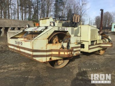 Tampo RS166A Vibratory Double Drum Roller